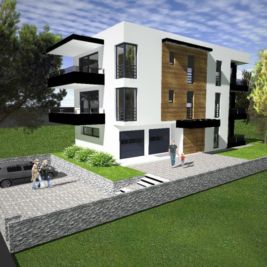 Projekt Medulin Ulica Munida – Zgrada 3
